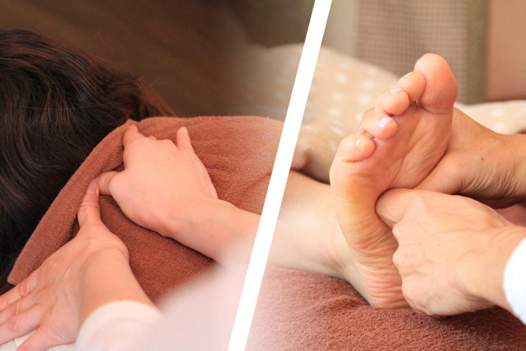 足つぼ 足裏マッサージ アシガル屋 匠の足壺 & 和の整体-セットコース